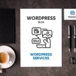 WordPress blog design by Trazka